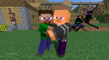 Novaskin-minecraft-wallpaper_Brotherly_Love